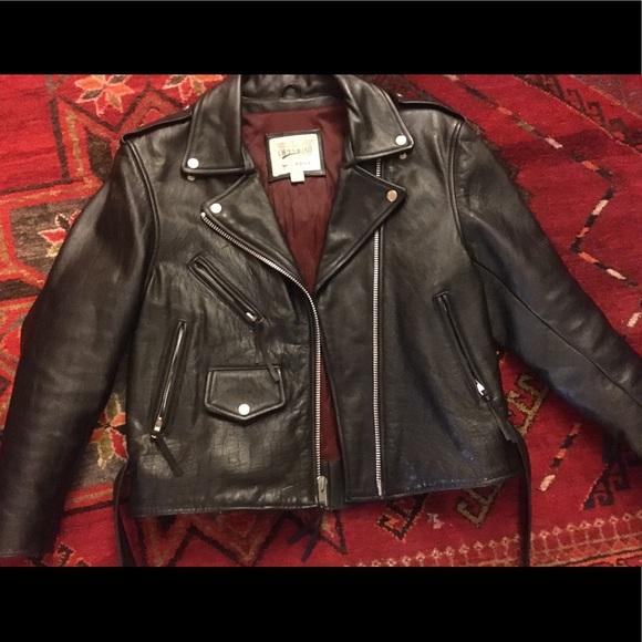 cc12c7de6 Vintage Wilson's Leather Women Moto Jacket Large